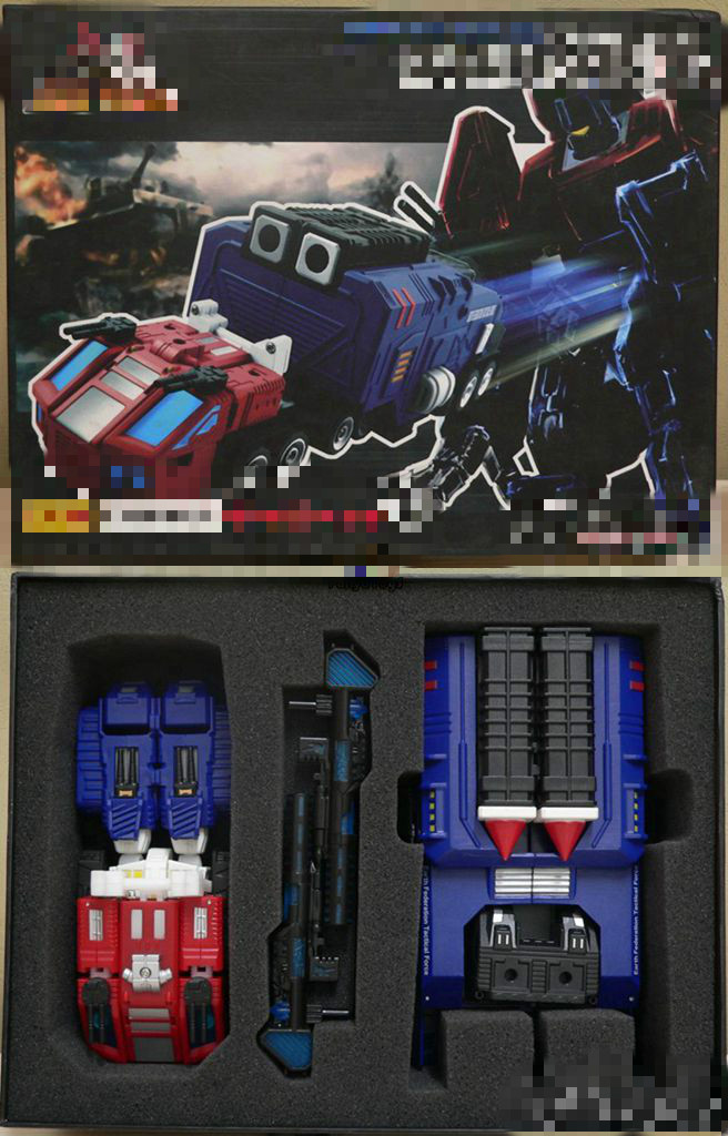 Original High quality ABS Deformation Robot Thunder Optimus Prime Action figures Robots Toys with Carriage(China (Mainland))