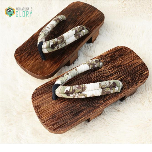 2016 летние мужчины женщины сандалии японский гета candlenut сабо деревянные тапочки ...