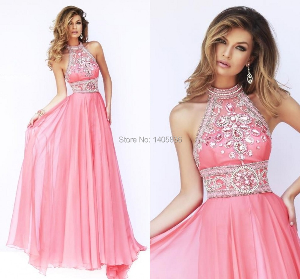 Aliexpress.com : Buy Long Pink Color Cheap Elegant Women ...