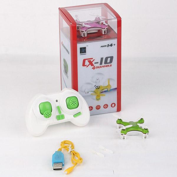 Игрушка на радиоуправлении Cheerson cx/10 CX10 2.4g 4/6axis RC RC RTF CX-10 CX10 boss cx10