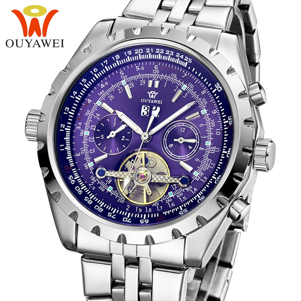 Promotion Watch Famous Brand OYW Automatic Mechanical Watch For Men Best Gifts Top Quality, Free shipping(China (Mainland))