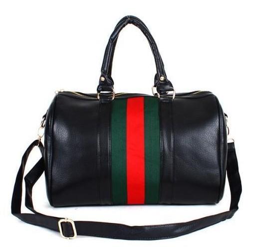 Free shipping New 2015 Women's Fashion PU Leather handbag Man Popular Travel bag Big capacity luggage bag(China (Mainland))