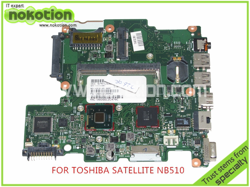 6050A2488301-MB-A02 SPS V000268060 Laptop Motherboard For toshiba satellite NB510 DDR3 SR0W1 n2600 cpu Onboard Mainboard<br><br>Aliexpress