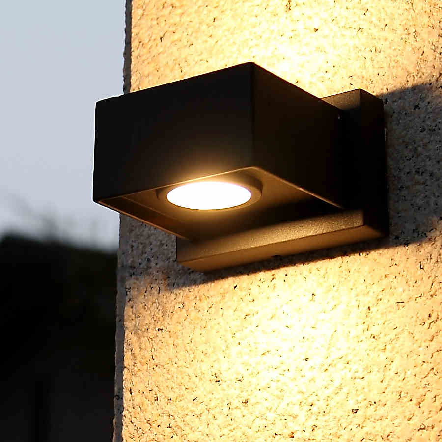 buy exterior led wall light outdoor waterproof balcony light garden lamp from. Black Bedroom Furniture Sets. Home Design Ideas