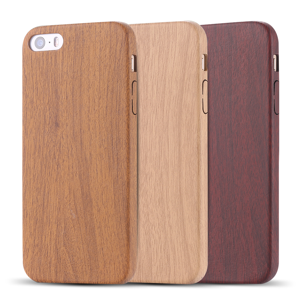 "Гаджет  Retro Vintage Wood Bamboo Pattern Leather PU Cases for iphone 6 6 s 4.7 /6 6s plus 5.5"" Thin Back Cover Protective Accessories None Телефоны и Телекоммуникации"