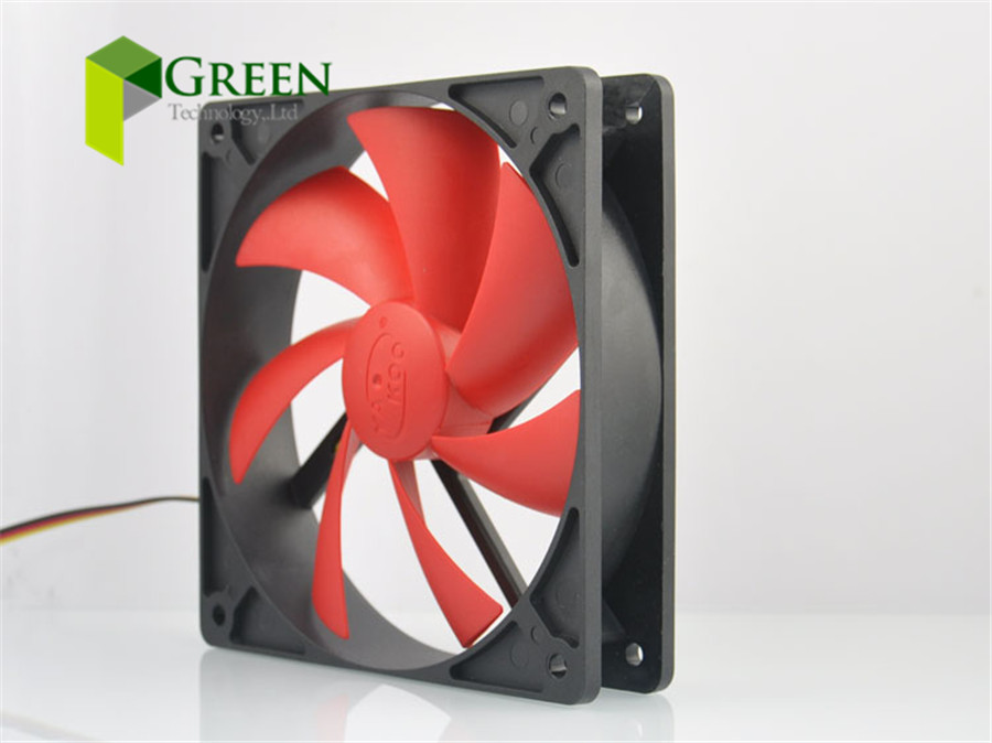 New Silent 120MM 1225 12025 120*120*25MM 12*12*2.5CM chassis fan Hydro bearing Computer case fan 12V 3pin and 4D(China (Mainland))