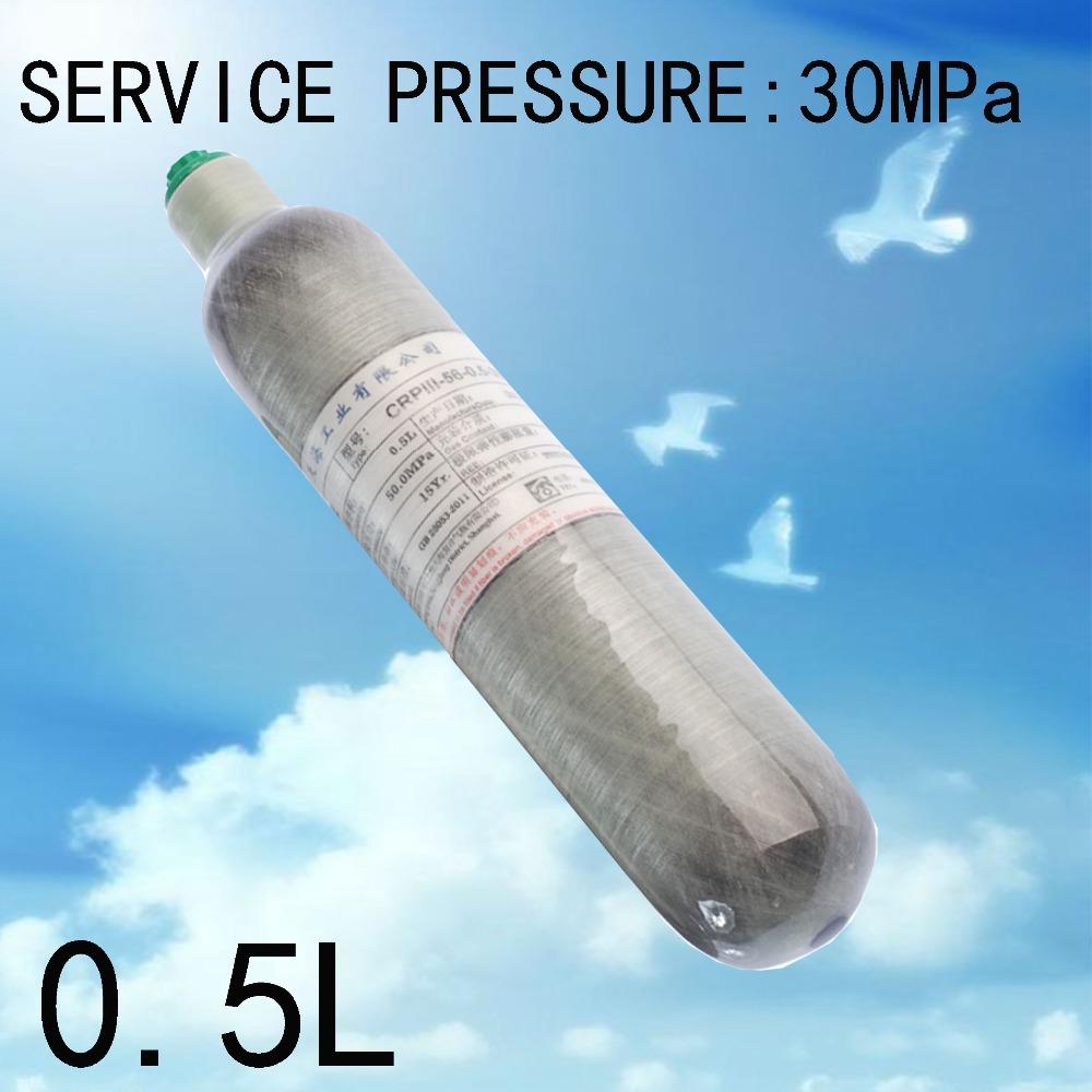 Carbon fiber cylinder l cc bottle high