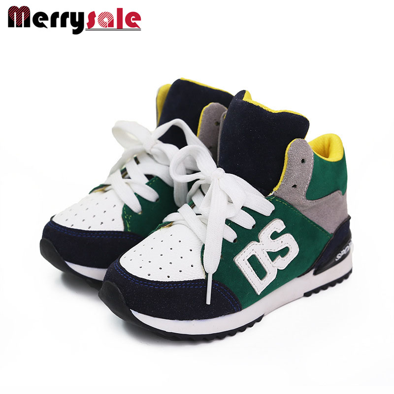 2017 version children's shoes boys and girls students casual shoes