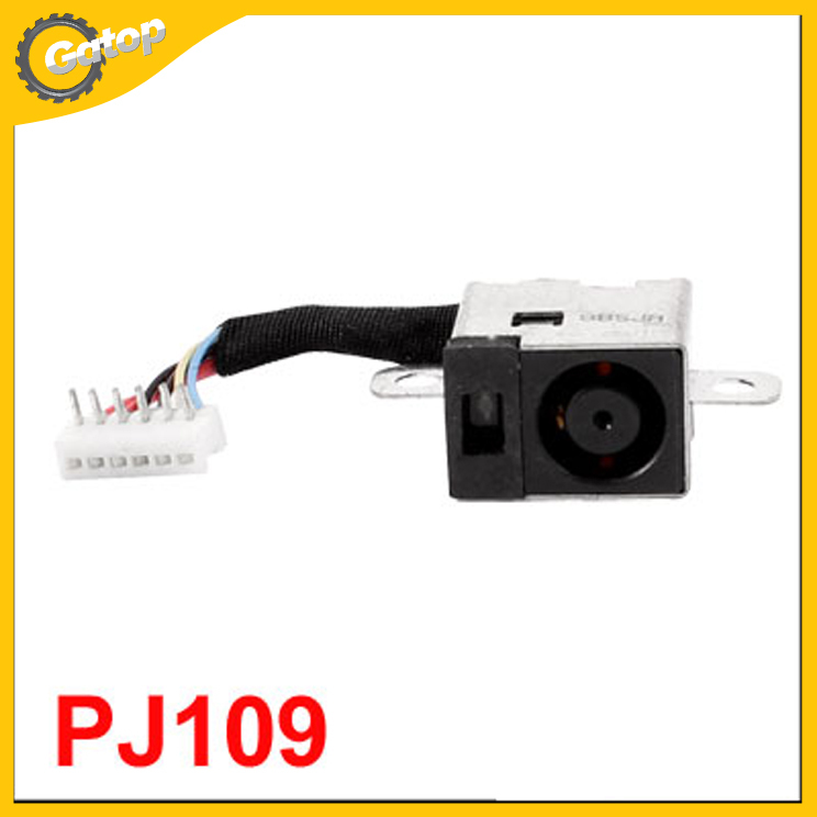 Laptop DC Power Jack Socket Wire Harness PJ109 for HP Pavilion DV3000 Series(China (Mainland))