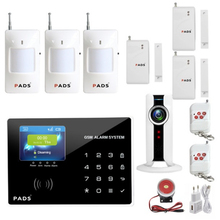 Buy Home anti burglar security GSM Alarm System IOS/Android App control Autodial Home Security alarm system for $39.33 in AliExpress store