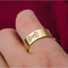 2015 New South Korean high-grade titanium ring men's ring factory wholesale