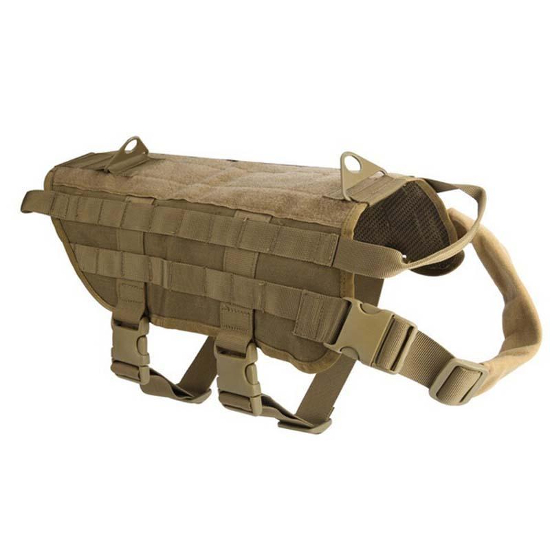Tactical dog vest - photo#21