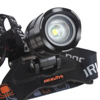 Налобный фонарь Boruit 1800 CREE xm/l T6 5 DC /usb &