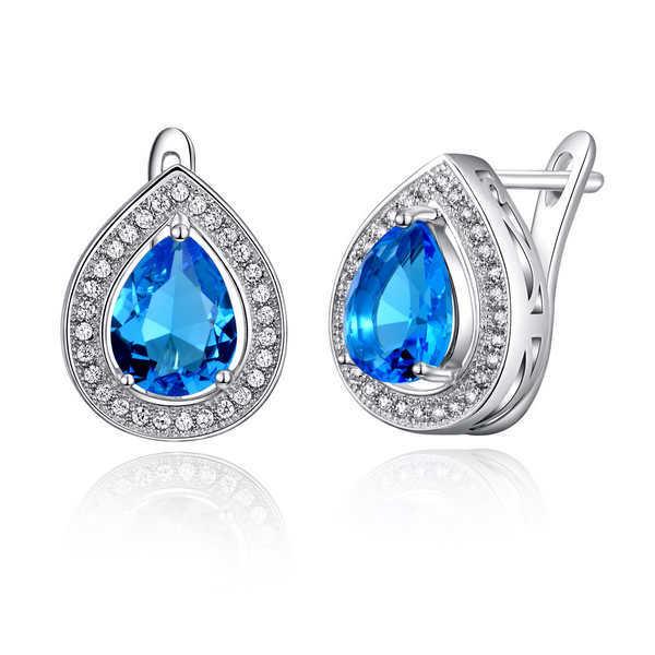 цена Серьги-гвоздики Orsa Jewels ORSA 3 ct AAA 925 CZ OE97 онлайн в 2017 году