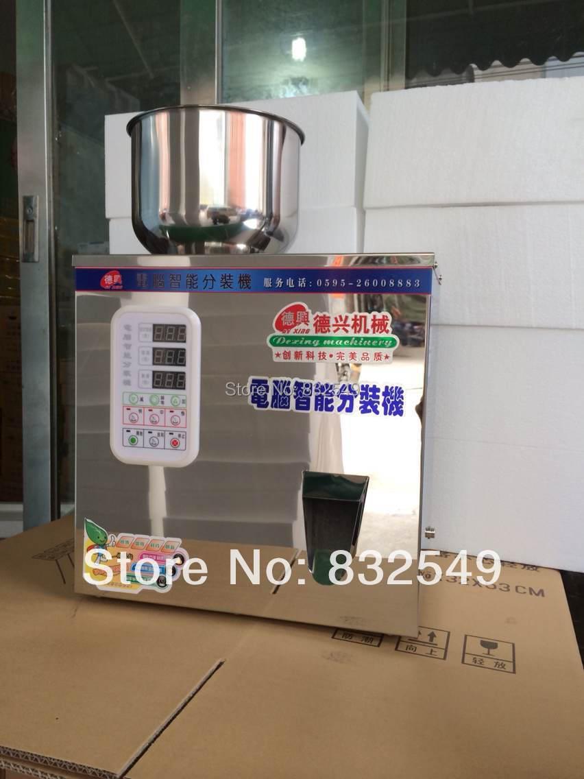 5-100g tea Packaging machine, grain filling machine, granule, medlar, automatic salt weighing machine,powder seedfiller(China (Mainland))
