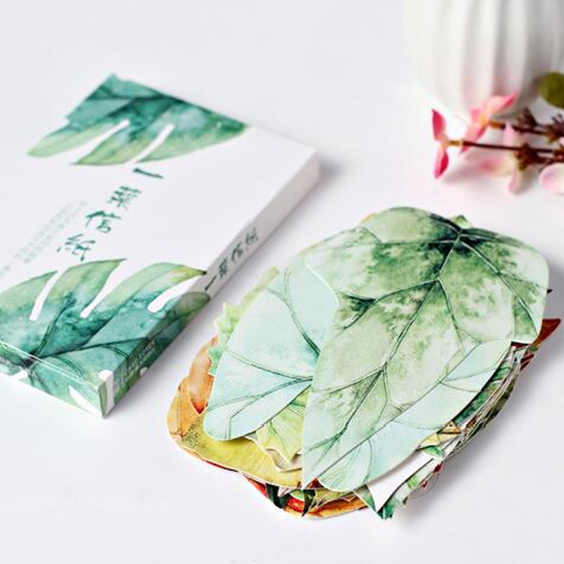 30 pcs/lot novelty leaves shape postcard greeting card christmas card birthday card gift cards<br><br>Aliexpress