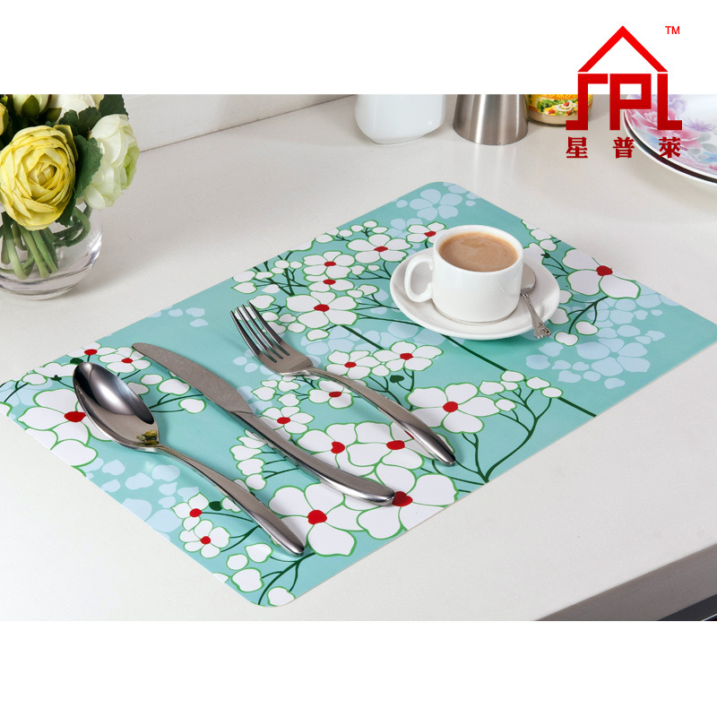 The creative fashion home Placemats Greenery Dandelion  : The creative fashion home Placemats Greenery Dandelion June flowers Plastic pvc placemat Heat resistant table mat from www.aliexpress.com size 800 x 800 jpeg 196kB