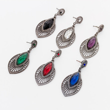 New Earrings Jewelry Pendants Stud Earring Fashion Accessories Jewelry, High Quality Zircon Crystal Stud Earrings For Women(China (Mainland))