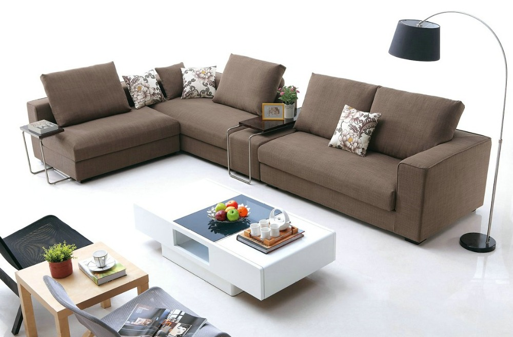 2015 Muebles Sofas For Living Room European Style Set Modern No Fabric Hot Sa
