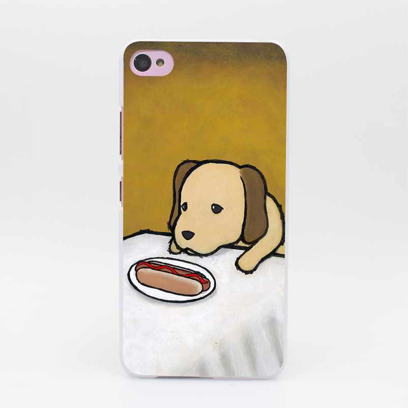 466GS Revenge Is A Dish Dog Hard White Case Cover for Lenovo S60 S90 S850 A536 A328(China (Mainland))