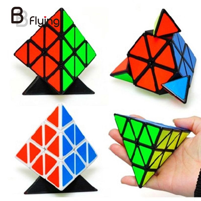 Pyraminx Speed Cube Black Puzzle Magic Cube Educational Toy for Kids Adult(China (Mainland))