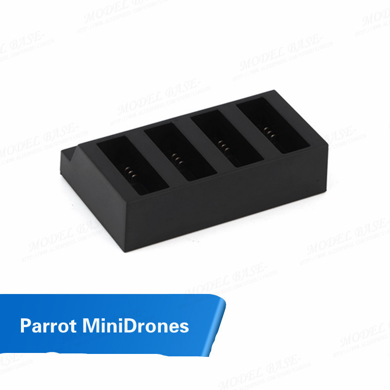 Parrot MiniDrones Jumping Sumo Rolling Spider Part Battery Blance Charger Single Can charge four batteries at one time