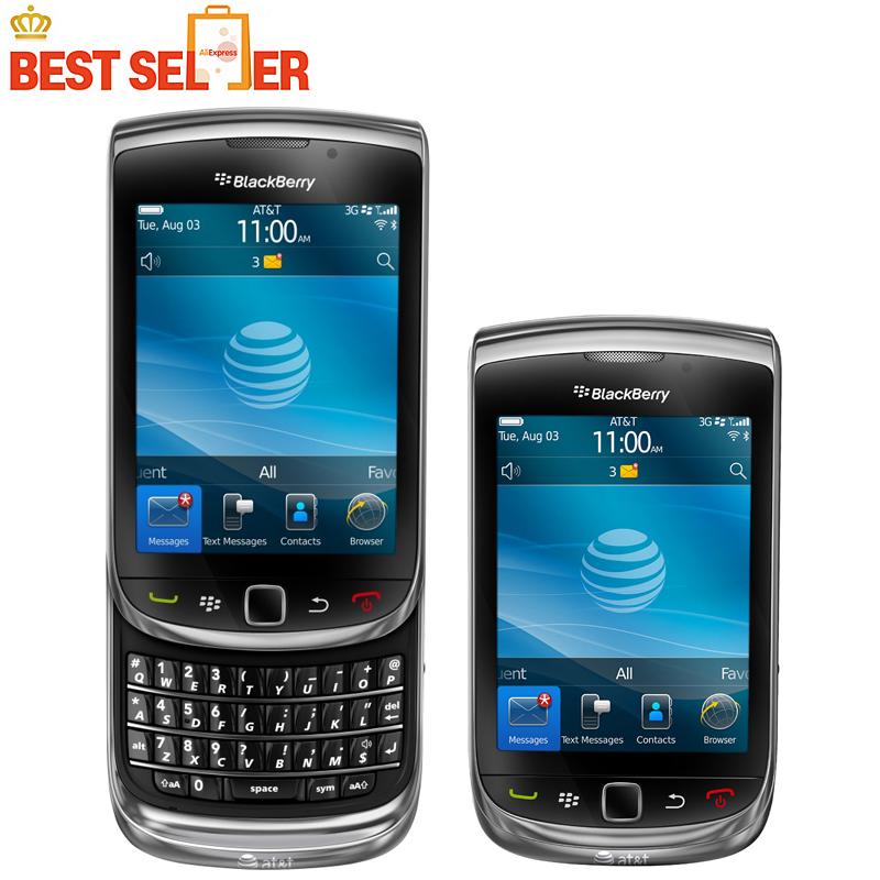 100% Original blackberry 9800 QWERTY Keyboard 3.2'' touch 3G phone GPS wifi unlocked 9800(China (Mainland))