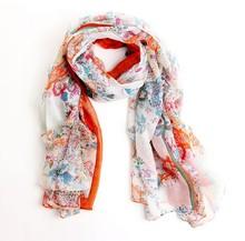 2015 Sunsreen scarf joker fields and gardens floral scarf large scarf women winter warm scarves pashmina