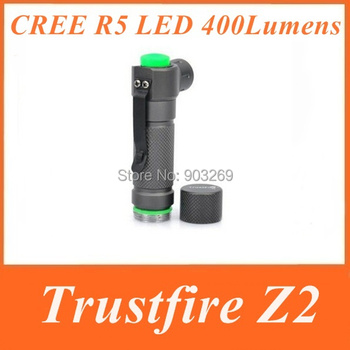 TrustFire Z2 CREE R5 LED Flashlight 5 Modes 400 Lumens lanterna policial  Led  Mini Torch By 1*14500 Rechargeable Battery