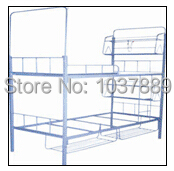 Home furniture large bed milimeter size iron bed shelf, Hot selling wall iron Bed shelf durable bed shelf(China (Mainland))
