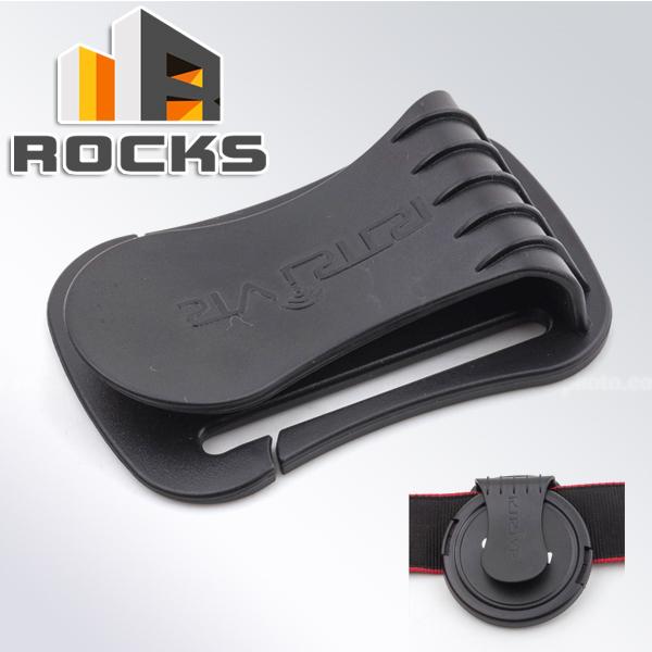 Camera Lens Cap Clip Holder Neck Strap Keeper Buckle U-Clip Suit For 40.5-77mm Canon Nikon Sony Pentax Olympus Fujifilm Black