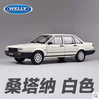 Volkswagen Santana welly FX GTA 1:18 Original simulation alloy car model toy Classic cars Best-selling models  Collection<br><br>Aliexpress