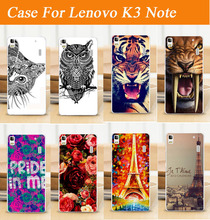 2015 Hot Sale Fashion Painting Phone Case Lenovo K3 Note Cases Hard Plastic PC Shell Back Cover Case For Lenovo k3 note A7000