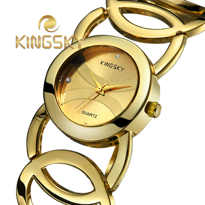 relojes mujer 2016 quartz watch montre femme women bracelet ladies clock gold Watches Women Dress Watch relogio feminino<br><br>Aliexpress