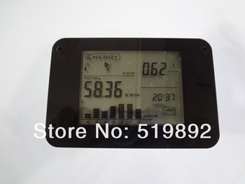 Wireless Electricity Monitor With USB Port H104 ,CO2 emission,power consumption,PC link.environment protection