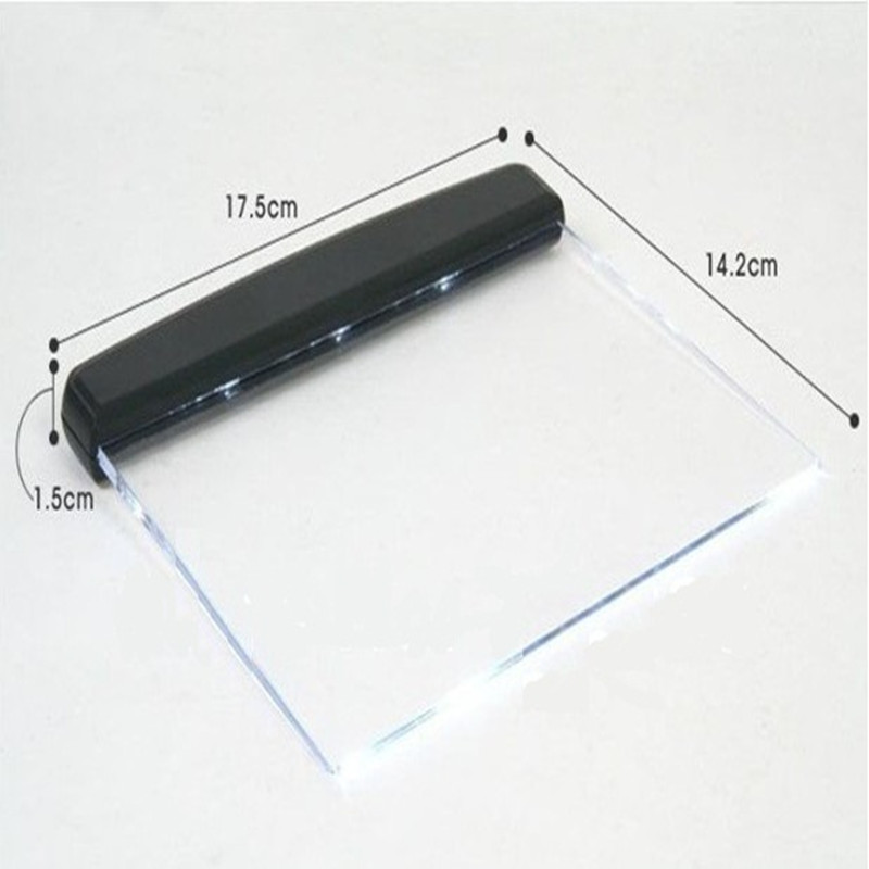 New Product Promotion!Below $10 Magic Flat Plate Portable Night Light LED Reading Book In Car Bright For E-Book Reader Lamp(China (Mainland))
