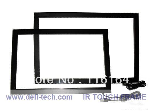 """2 points 42"""" Touch screen monitor/ panel ,IR multi touch frame with 16:9 fromat for Interactive advertising(China (Mainland))"""
