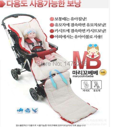 0-24 Month baby footmuff Sack 1pcs 94 * 44CM New Baby Infant Stroller Cashmere Sleeping Bag Kid Pushchair Fleabag H0817(China (Mainland))
