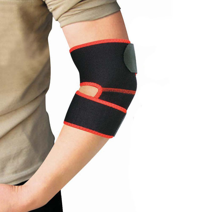 Protect Strained Adjustable Warm Armband Breathable Durable Elbow Free Shipping Puscard(China (Mainland))