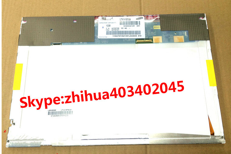 Free Shipping LED panel 1440*900 LTN141BT09 Laptop lcd screen replacement for IBM T410 T410I 42T0727<br><br>Aliexpress