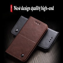 Popular Inside collect Flip leather Distinguished Retro phone back cover 5.5'For Vernee apollo lite case  ()