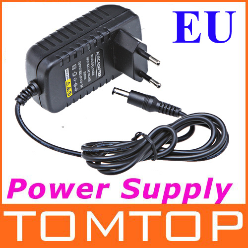 AC 100-240V to DC 12V 2A EU Plug AC/DC Power adapter charger Power Supply Adapter for Led Strips Lights Free shipping Wholesale