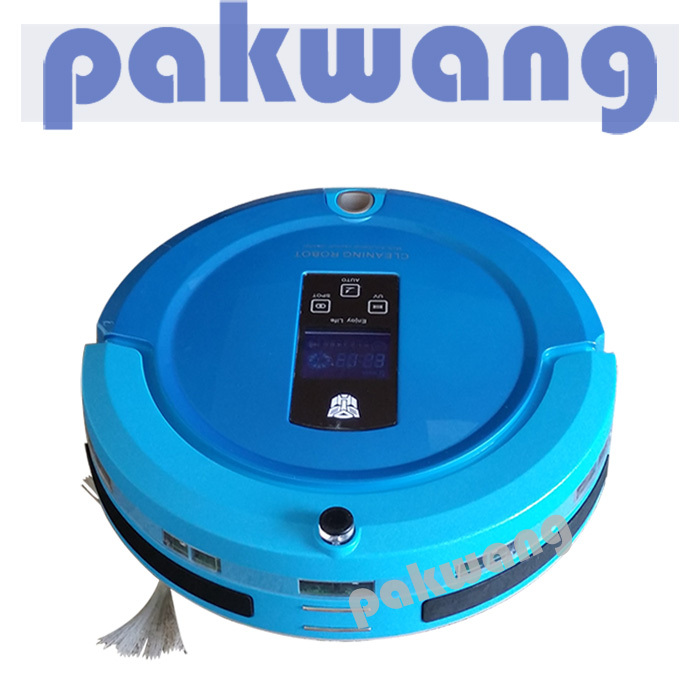 Most Popular Shining Logo Auto Recharge Remote Controller Robot Vacuum Cleaner,vacuum hand(China (Mainland))