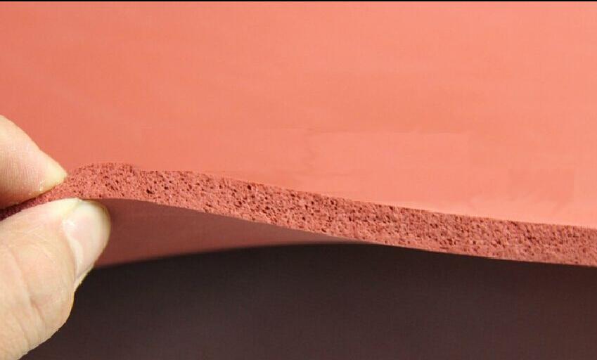 "500X500X3MM Silicone Sponge Rubber Sheet Plate Pad 50x50cm(20x20"") High Temp Heat Press(China (Mainland))"