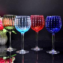 Fine crystal glass Wine Glass Creative personality party wine glasses nice goblet  Christmas Blackjack