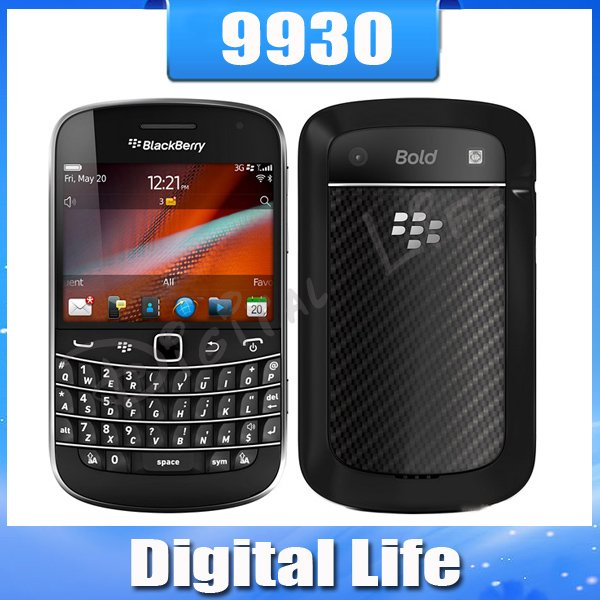 9930 Original Unlocked BlackBerry Bold Touch 9930 Cell Phone Touch Screen 3G GPS WIFI Bluetooth Cell Phone(China (Mainland))
