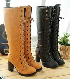 Free shipping knee boots high heel shoes winter fashion sexy warm long women boot AH103 on sale size 30-43