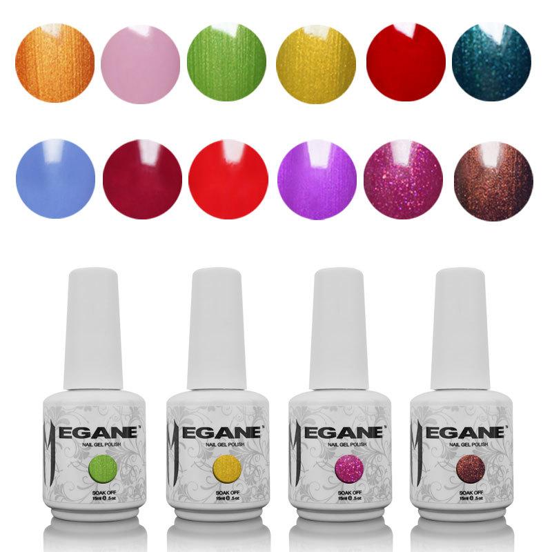 Varnish Gel 212 Colors Nail Art For Gelishgel Uv&l...