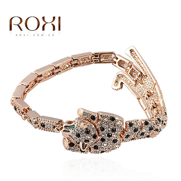 ROXI Sales ROXI Best Gift For Girlfriend Rose Gold Plated Bracelet,Two Extended,Exquisite Workmanship<br><br>Aliexpress