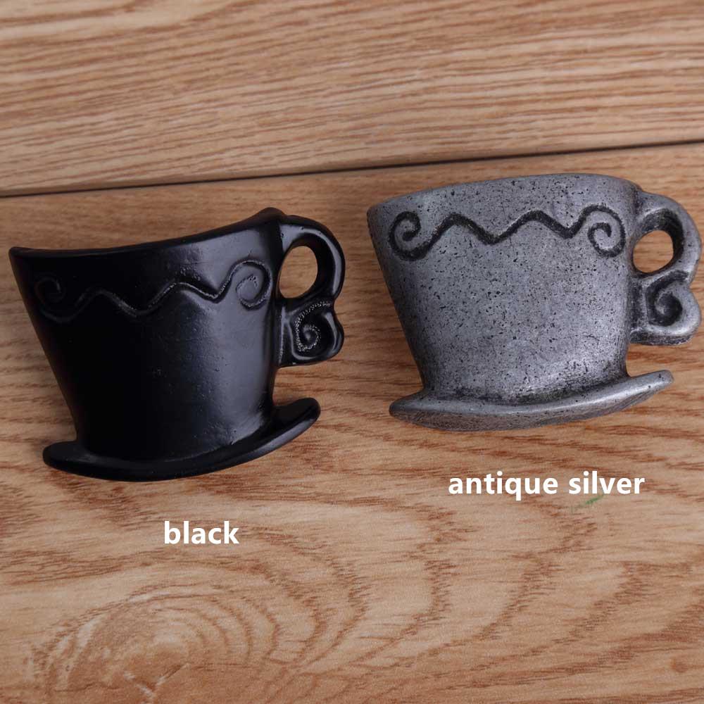 Online kopen Wholesale Zwarte retro cups uit China Zwarte retro ...